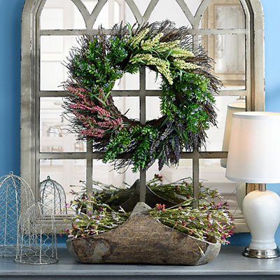 Heather Boxwood Wreath
