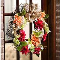 Harvest Door Wreath
