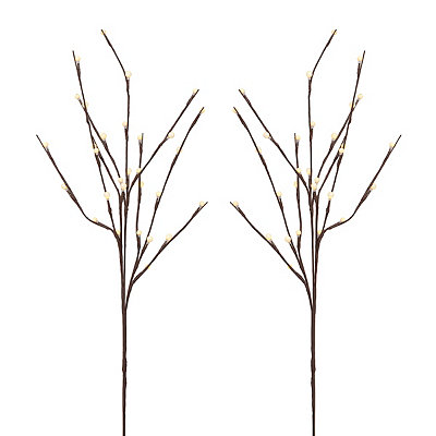 City Lights Pre-Lit Branches, Set of 2