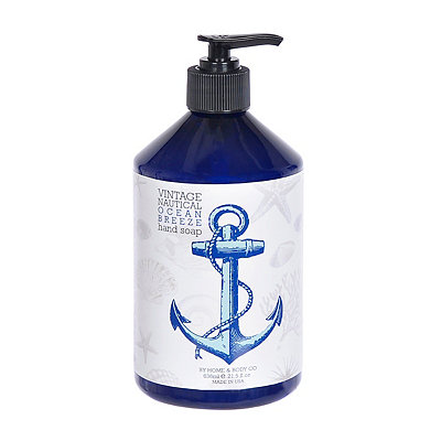 Vintage Nautical Ocean Breeze Hand Soap