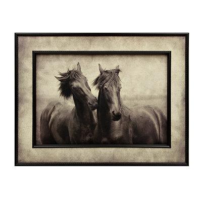 Elegant Horses Framed Art Print