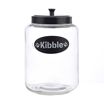 Kibble Dog Treat Jar