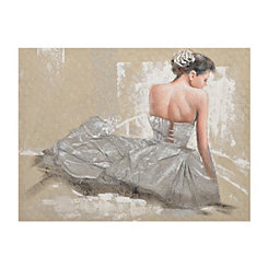 Elegant Dancer Canvas Art
