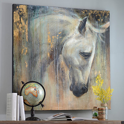 Stallion Glory Canvas Art