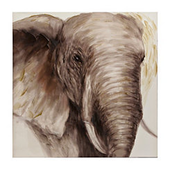 Majestic Elephant Canvas Art