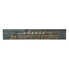 Choose Happiness Wooden Plaque
