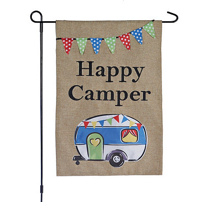 Happy Camper Flag Set