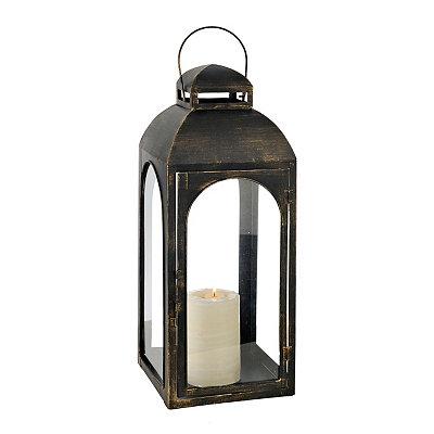 Oil Rubbed Bronze Metal Lantern