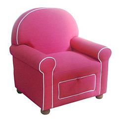 Pink Kids Storage Chair