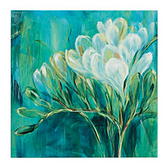 Freesia Blues II Canvas Art Print