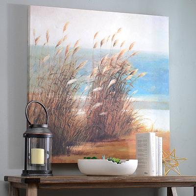 Coastal Classic Landscape II Canvas Art Print