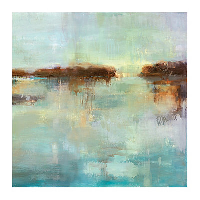 Abstract Waters II Canvas Art Print