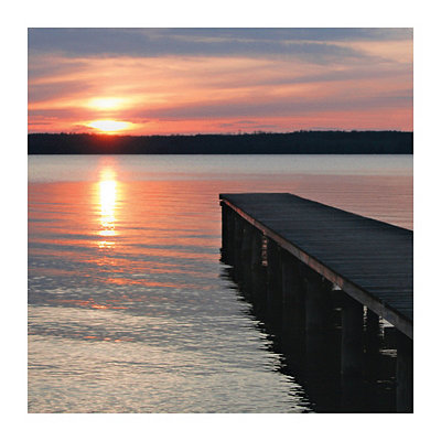 Twilight Pier II Canvas Art Print
