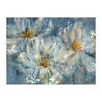 Blue Cosmos Canvas Art Print