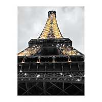 Eiffel Tower Lights Canvas Art Print