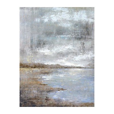 Silver Lake Canvas Art Print