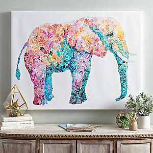 Elephant Gum Canvas Art Print