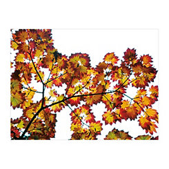 Leaf Silhouettes III Canvas Art Print