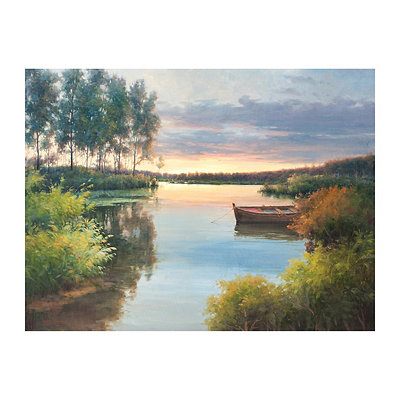 Fading Light Canvas Art Print