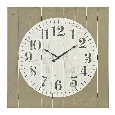 Abigail Wood Plank Pallet Clock