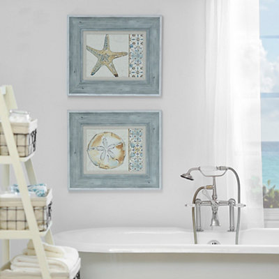 Coastal Breeze Framed Art Prints