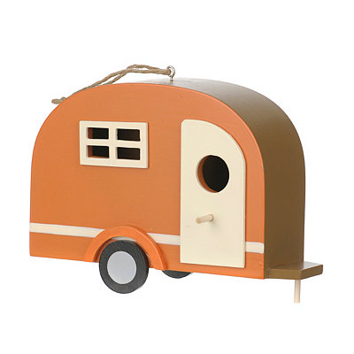 Happy Camper Bird House