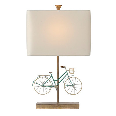 Blue Bike Table Lamp