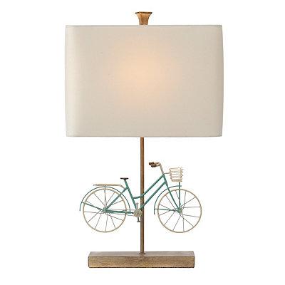 Blue Bike Table Lamp