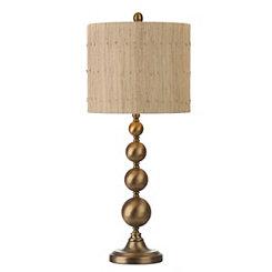 Caldwell Brass Orbs Table Lamp