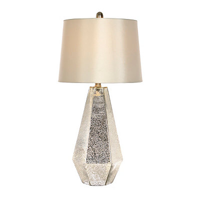Zeller Mercury Glass Table Lamp