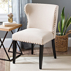 Anderson Linen Accent Chair