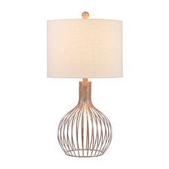 Pennington Silver Cage Table Lamp