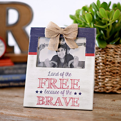Land of the Free Picture Frame