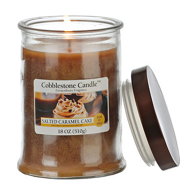 Salted Caramel Cake Jar Candle