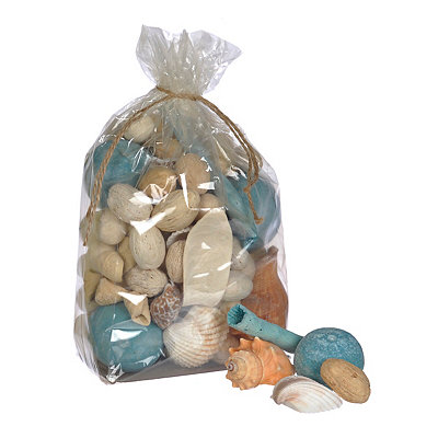 Blue Seashell Potpourri