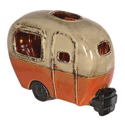 Red Camper Tabletop Night Light