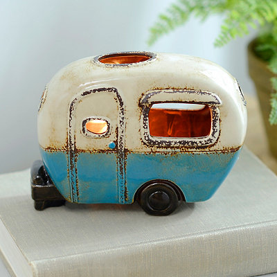 Blue Camper Tabletop Night Light