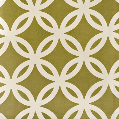 Fern Circles Fabric Swatch