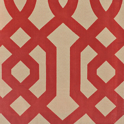 Red Gatehill Fabric Swatch