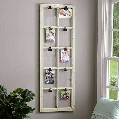 wooden window pane 10 opening clip collage frame - Window Picture Frame