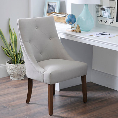 Lillian Taupe Accent Chair