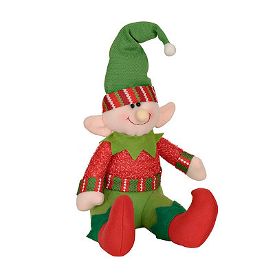 Plush Green Hat Elf
