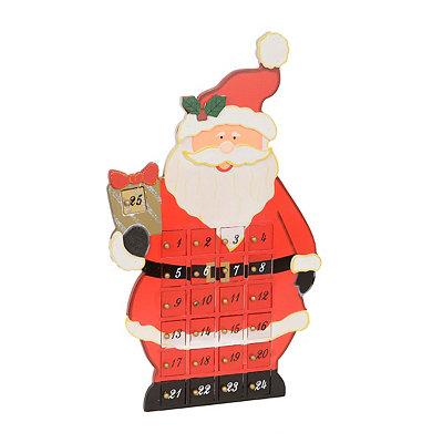 Standing Santa Advent Calendar