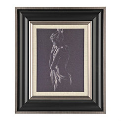 Figurative Study in Charcoal II Framed Art Print