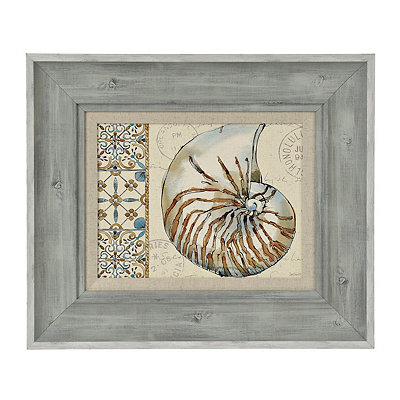 Coastal Breeze I Framed Art Print