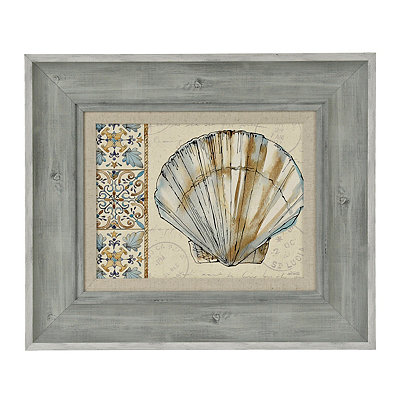 Coastal Breeze III Framed Art Print