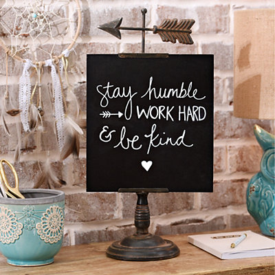 Distressed Arrow Chalkboard