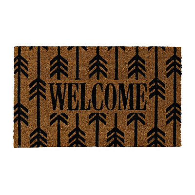 Welcome Arrow Doormat