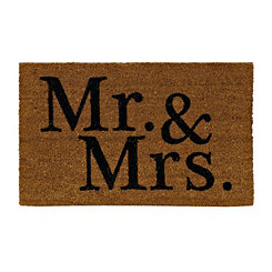 Mr. & Mrs. Doormat