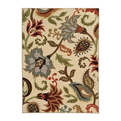 Wildflowers Antioch Area Rug, 5x7